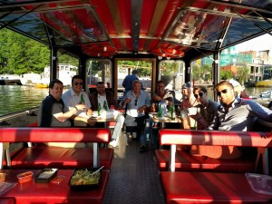 Barbeque boat tour